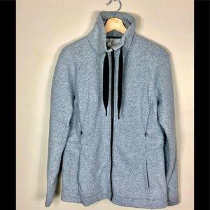 Lululemon Full Zip High Collar Jacket- size 10